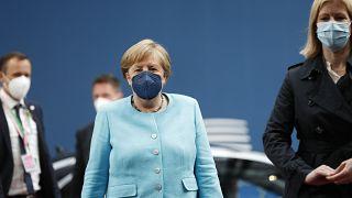 Merkel in EU Summit
