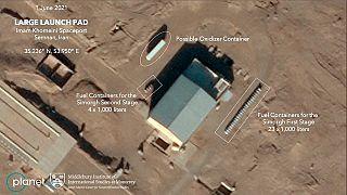 تصاویر هوایی از حمله به تاسیسات هستهای ایران
