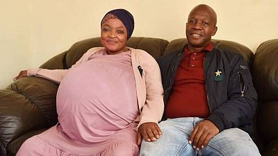 S.Africa's government confirms woman did not give birth to ten babies