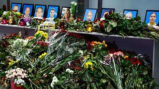مراسم یادبود کشتهشدگان حادثه سرنگونی هواپیمای اوکراینی