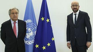 Guterres pede à UE para garantir acesso justo às vacinas