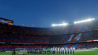 """خلال إحدى مواجهات """"الكلاسيكو"""" بين ريال مدريد وبرشلونة"""