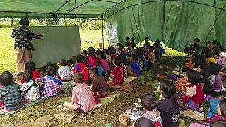 BM: Myanmar'da 230 bin kişi savaş ve şiddet nedeniyle yerinden edildi