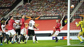 گل تیم میلان در خانه منچستر یونایتد در رقابتهای فصل ۲۰۲۰-۲۰۲۱ لیگ اروپا