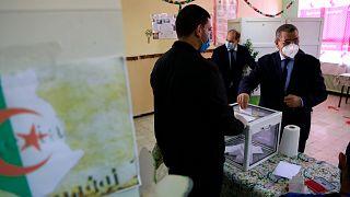 رئيس الحكومة الجزائرية المستقيل عبد العزيز جراد