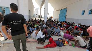 Over 250 migrants rescued by Tunisian navy are in quarantine