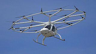 Prototype fabriqué par Volocopter, Paris, 21/06/21