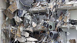 Edificio derrumbado en Miami Dade