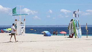 Una playa de Mallorca