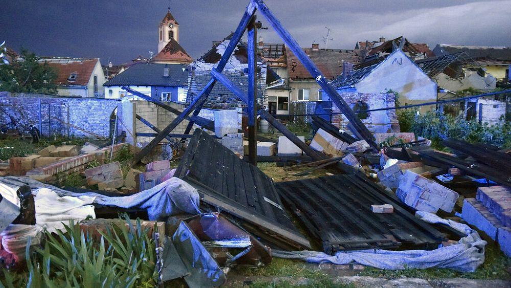 Deadly tornado rips through the Czech Republic