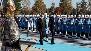 Katar Emiri'nin Ankara ziyareti
