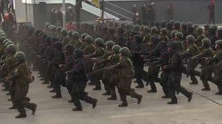 عرض عسكري بمناسبة يوم الاستقلال في فنزويللا