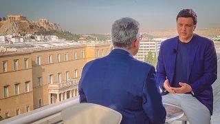 O Υπουργός Υγείας Βασίλης Κικίλιας στο Euronews