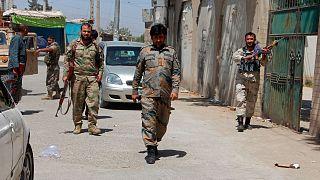 نیروهای نظامی افغانستان در کندز