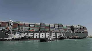 """Suez Canal: """"Initial"""" compensation agreement after Ever Given blockade"""