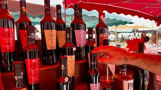 بازار روز آژاکسیو - جزیره کُرس فرانسه