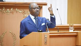 """Gabon: Bongo urges """"unity"""" in first speech to parliament in 5 years"""