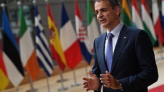 Ο πρωθυπουργός Κυριάκος Μητσοτάκης στο Ευρωπαϊκό Συμβούλιο στις Βρυξέλλες (24 & 25 Ιουνίου 2021)