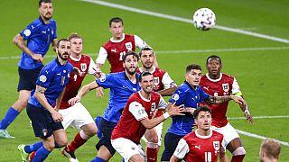 Italien gegen Österreich im Wembley-Stadion in London