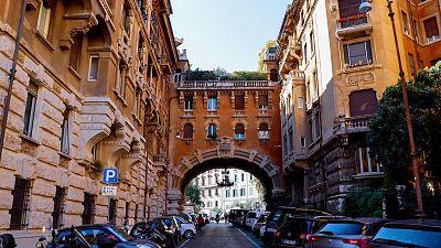 Quartiere Coppede in Rome
