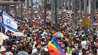 Tel Aviv Pride returns after Covid cancellation