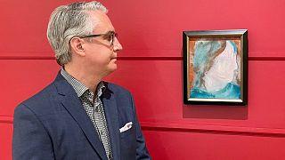 David Bowie'nin 4 dolara satılan tablosu açık artırmada 90 bin dolara alıcı buldu