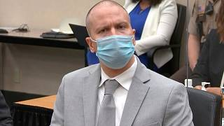 قرائت حکم دادگاه قتل جرج فلوید