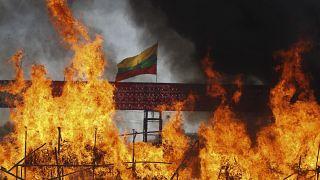 شاهد: ميانمار تحرق مخدرات تفوق قيمتها نصف مليار دولار
