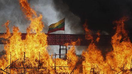 Myanmar authorities incinerate seized narcotics