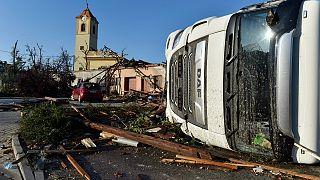 خسارات طوفان و تگرگ در جمهوری چک