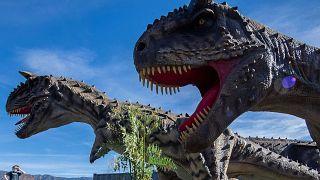 معرض للديناصورات، باسادينا، كاليفورنيا، 15 يناير 2021