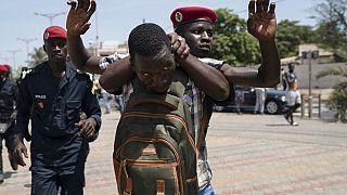 Clashes at Dakar protest against anti-terror