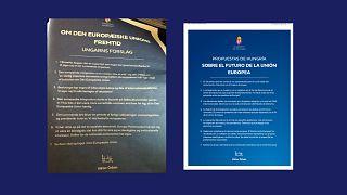 A magyar kormány hirdetései külföldi lapokban