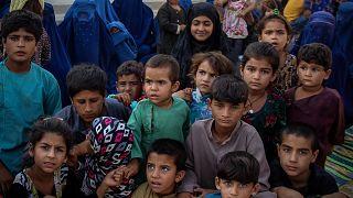 Afganistan'da iç savaş yüzünden göç başladı