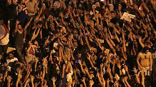 Διαδήλωση στο Λίβανο- εικόνα αρχείου