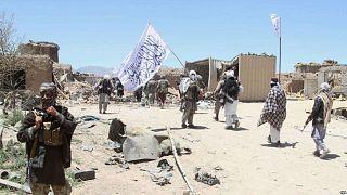 پیشروی طالبان در ولسوالیهای افغانستان