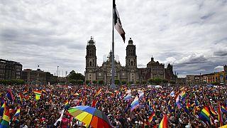 Marcha del Orgullo LGTBI en Ciudad de México