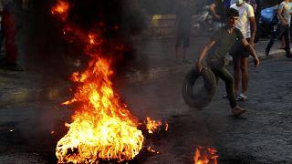Lübnan'da protesto