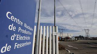 Archives : la centrale nucléaire de Fessenheim (est de la France), le 21/02/2020