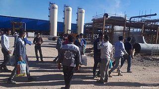 اعتصاب کارگران صنعت نفت و گاز و پتروشیمی در ایران