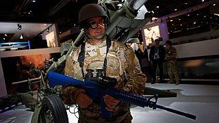 نمایشگاه تجهیزات دفاعی و امنیتی در لندن