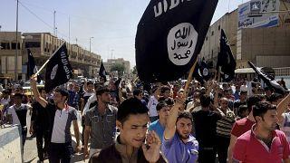 Musul'da IŞİD yanlısı gösteri (2014) - Arşiv