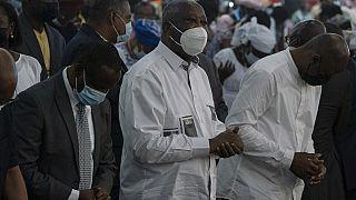 Côte d'Ivoire : accueil triomphal pour Laurent Gbagbo dans son village natal