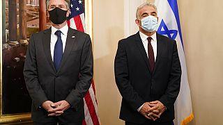 ABD Dışişleri Bakanı Antony Blinken ile İsrail Dışişleri Bakanı yair lapid Roma'da biraraya geldi