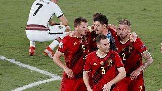 Les Diables Rouges font chuter le Portugal et sa star Cristiano Ronaldo - Séville le 27/06/2021