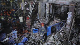 انفحار في العاصمة البنغالية دكا
