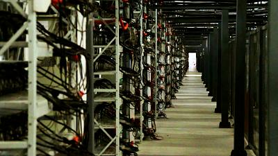 Inside the Bitriver data centre in Siberia which is facilitating bitcoin mining for clients all over the world.