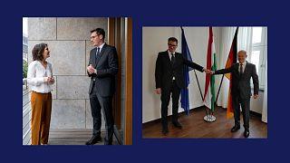 Annalena Baerbock, a zöldek kancellárjelöltje és Olaf Sholz, a szociáldemokraták kancellárjelöltje is tárgyalt Karácsony Gergellyel