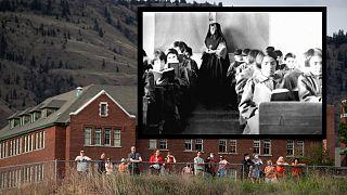 A diákokat meggyörtrő bentlakásos iskolák - Kamloops (2021) és Ontario (1945)