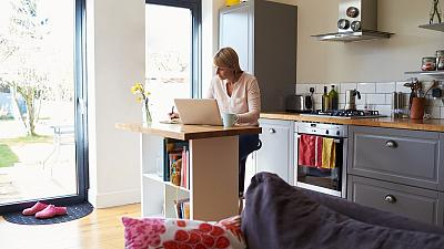 Nearly 40 per cent of workers in the EU shifted to remote working during the pandemic.